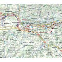 Huber Verlag Fietskaart Set EuroVelo6 Boedapest - Zwarte Zee