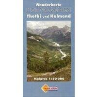 Huber Verlag Wandelkaart Albanië Noord