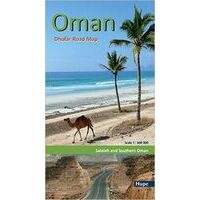 Hupe Verlag Oman: Dhofar Road Map