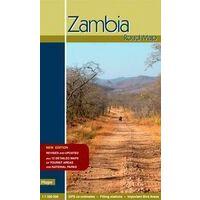 Hupe Verlag Wegenkaart Zambia 1:1.500.000