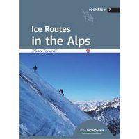 IdeaMontagna Ice Routes In The Alps - Topo IJsklimmen Alpen