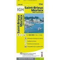 IGN Fietskaart 114 Saint-Brieuc - Morlaix