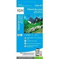 IGN Wandelkaart 3236ot Villard-de-Lans Mont Aiguille