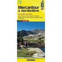 IGN Topografische Wandelkaart 07 Mercantour & Alpi-Marittime