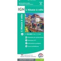 IGN Fietskaart Elzas - Alsace à Vèlo 1:110.000