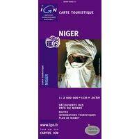 IGN Wegenkaart Niger