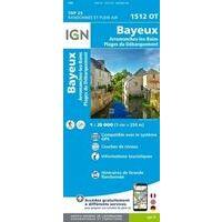 IGN Wandelkaart 1512ot Bayeux