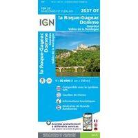 IGN Wandelkaart 2037ot La Roque-Gageac
