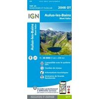 IGN Wandelkaart 2048ot Aulus-les-Bains Mont Valier