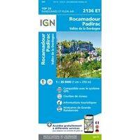 IGN Wandelkaart 2136et Rocamadour