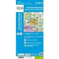 IGN Wandelkaart 2148et Ax-les-Thermes