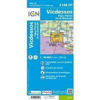 IGN Wandelkaart 2148ot Vicdessos