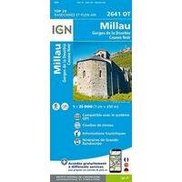 IGN Wandelkaart 2641ot Millau