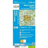 IGN Wandelkaart 2739ot Mont Lozère