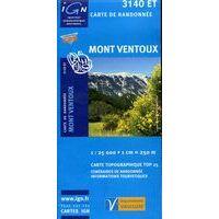 IGN Wandelkaart 3140et Mont Ventoux