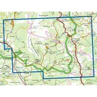 IGN Wandelkaart 3237ot Glandasse Croix Haute