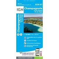 IGN Wandelkaart 3326et Champagnole