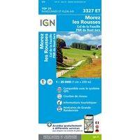 IGN Wandelkaart 3327et Morez Les Rousses