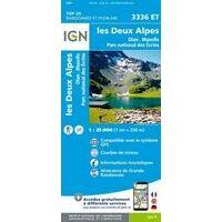 IGN Wandelkaart 3336et Les Deux Alpes - Olan