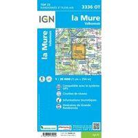 IGN Wandelkaart 3336ot La Mure - Valbonnais