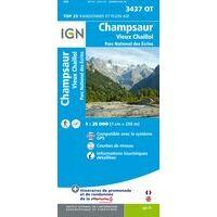 IGN Wandelkaart 3437ot Champsaur Vieux-Chaillol
