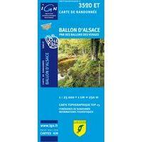 IGN Wandelkaart 3520et Ballon D'Alsace