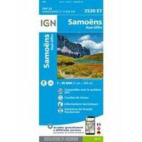 IGN Wandelkaart 3530et Samoëns - Haut-Giffre