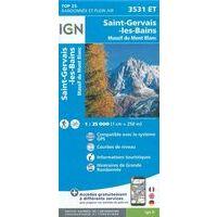 IGN Wandelkaart 3531et St-Gervais-les-Bains