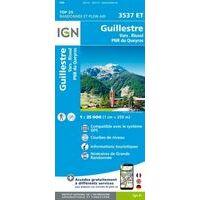 IGN Wandelkaart 3537et Guillestre - Vars Risoul