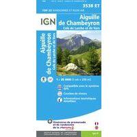 IGN Wandelkaart 3538et Aiguille De Chambeyron