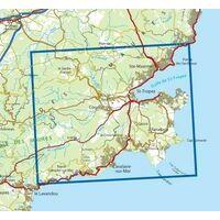IGN Wandelkaart 3545ot St-Tropez Ste-Maxime