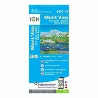 IGN Wandelkaart 3637ot Mont Viso - Saint-Veran