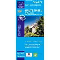 IGN Wandelkaart 3640et Haute Tinée 2 - Isola 2000