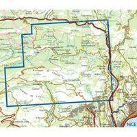 IGN Wandelkaart 3642et Vallée De L'Estéron