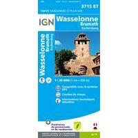 IGN Wandelkaart 3715et Wasselonne