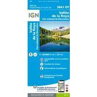 IGN Wandelkaart 3841ot Vallée De La Roya