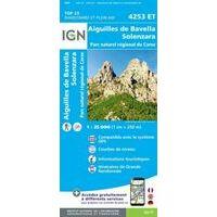 IGN Wandelkaart 4253et Aiguilles De Bavella