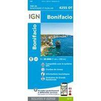 IGN Wandelkaart 4255ot Bonifacio