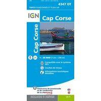 IGN Wandelkaart 4347ot Cap Corse