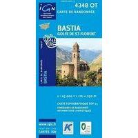 IGN Wandelkaart 4348ot Bastia