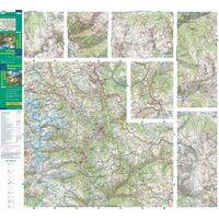IGN Wandel- En Fietskaart 07 Entre Lac Leman & Mont Blanc