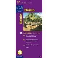 IGN Wegenkaart Benin 1:600.000