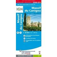 IGN Wandelkaart 2349ETR Massif Du Canigou