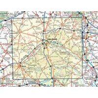 IGN Fietskaart 127 Orléans - Blois - Val De Loire