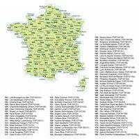 IGN Fietskaart 139 Poitiers - Châtellerault