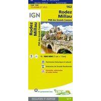 IGN Fietskaart 162 Rodez - Millau