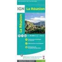 IGN Wegenkaart La Réunion