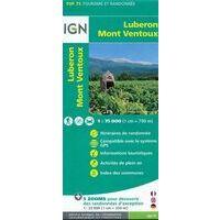 IGN Wandel- En Fietskaart Luberon & Mont Ventoux