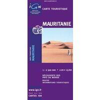 IGN Wegenkaart Mauritanië