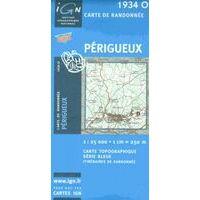 IGN Topografische Kaart 1934O Périgueux 1:25.000